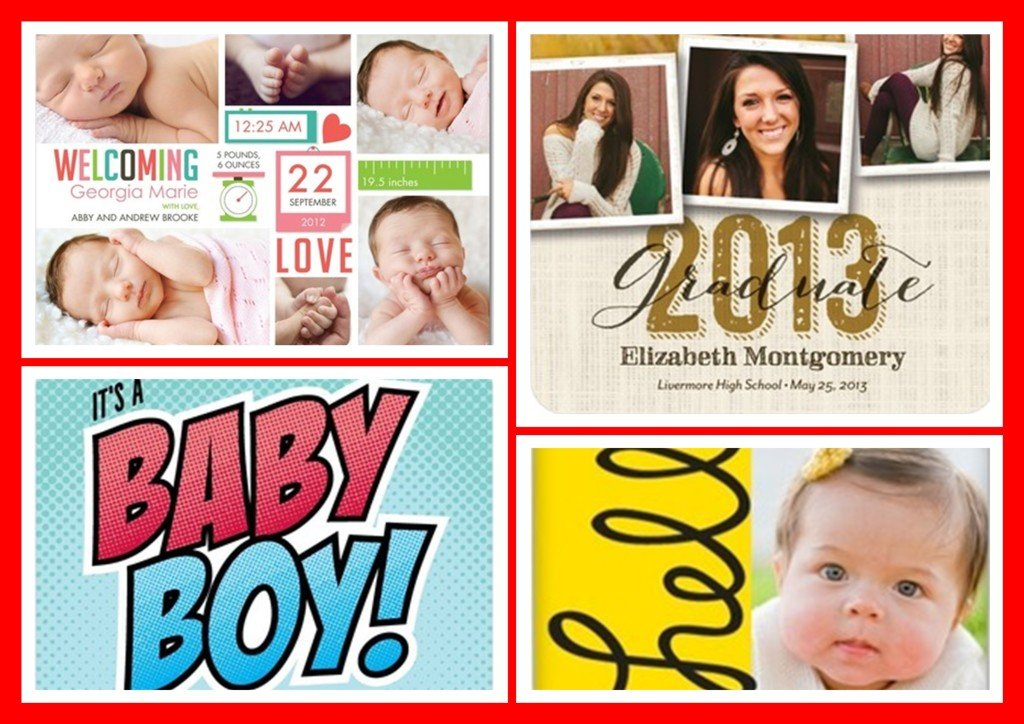 Tiny Prints Sale | Party Invitations | Birth & Graduation Announcements | Personalized Photo Gifts