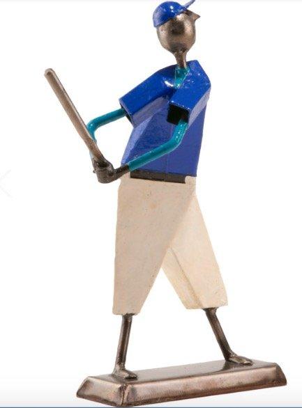 ArteFelguerez Baseball Player Sculpture