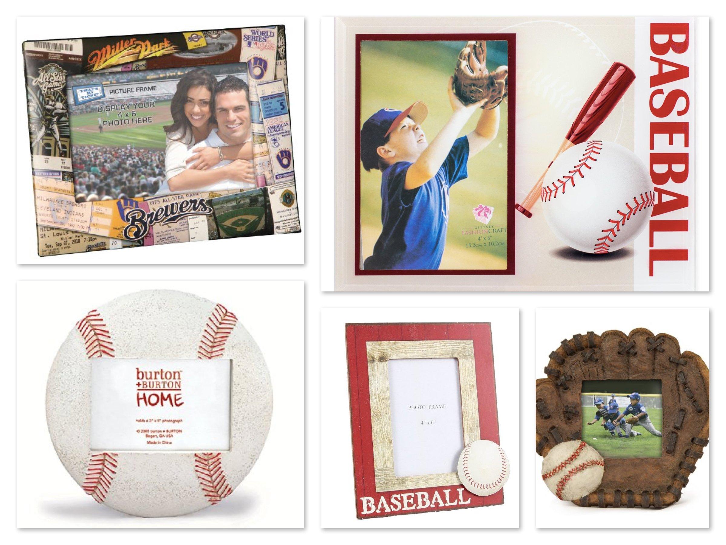 Baseball Photo Frames