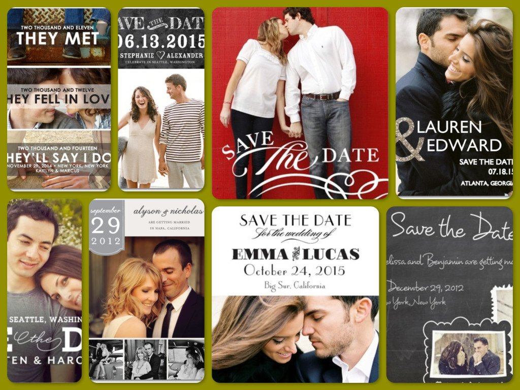 Fall Wedding Save the Dates