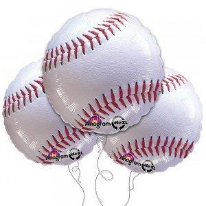 Mylar Baseball Balloon