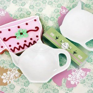 Porcelain Tea Caddy Favors
