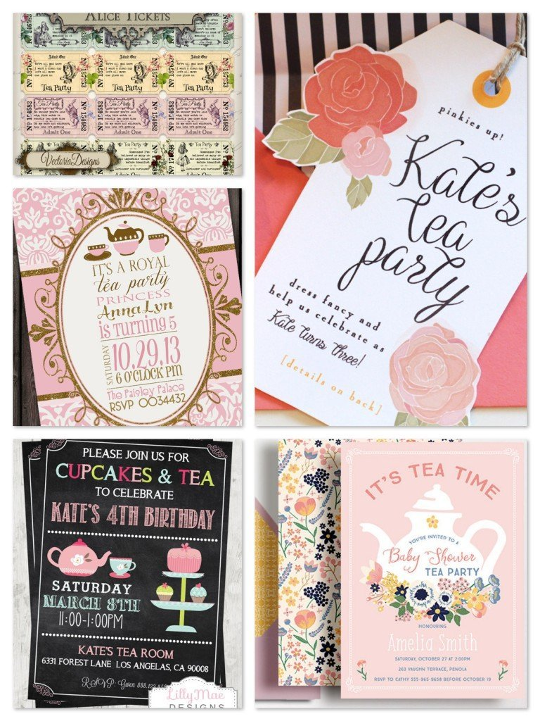 Tea Party Planning, Ideas, & Supplies | Birthday Party | Bridal ...
