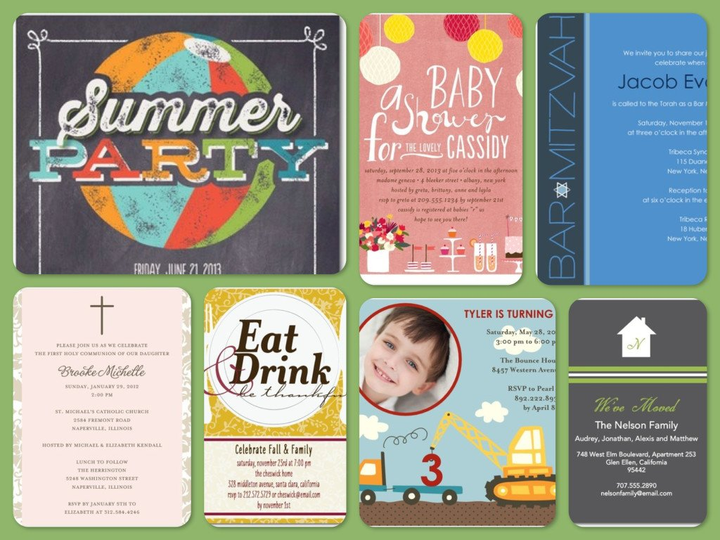 Tiny Prints Invitations & Announcements