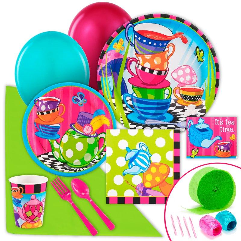 Topsy Turvy Tea Party Supplies