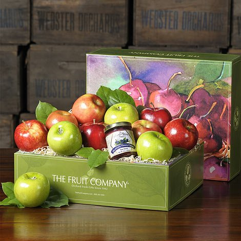 Apples and Honey Rosh Hashana Gift, Apples & Honey Gift Box