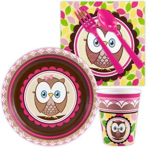 Look Whoo's 1 Pink Snack Party Pack