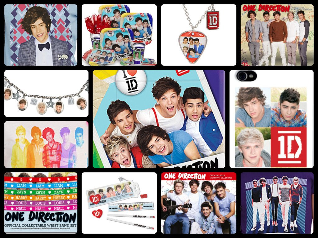 One Direction Birthday Party Supplies and Gifts