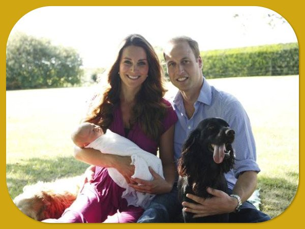 Prince George's 1st Family Home Photos