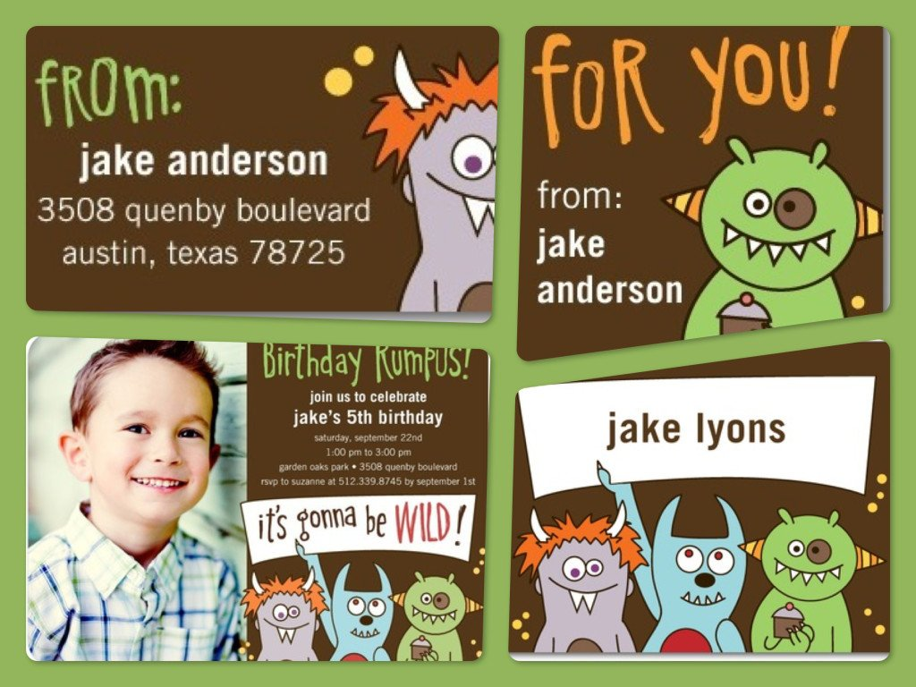 Where The Wild Things Are Invitations & Stationery