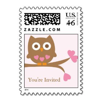 pink_owl_baby_shower_postage