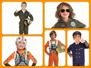 Kids Pilot Costumes