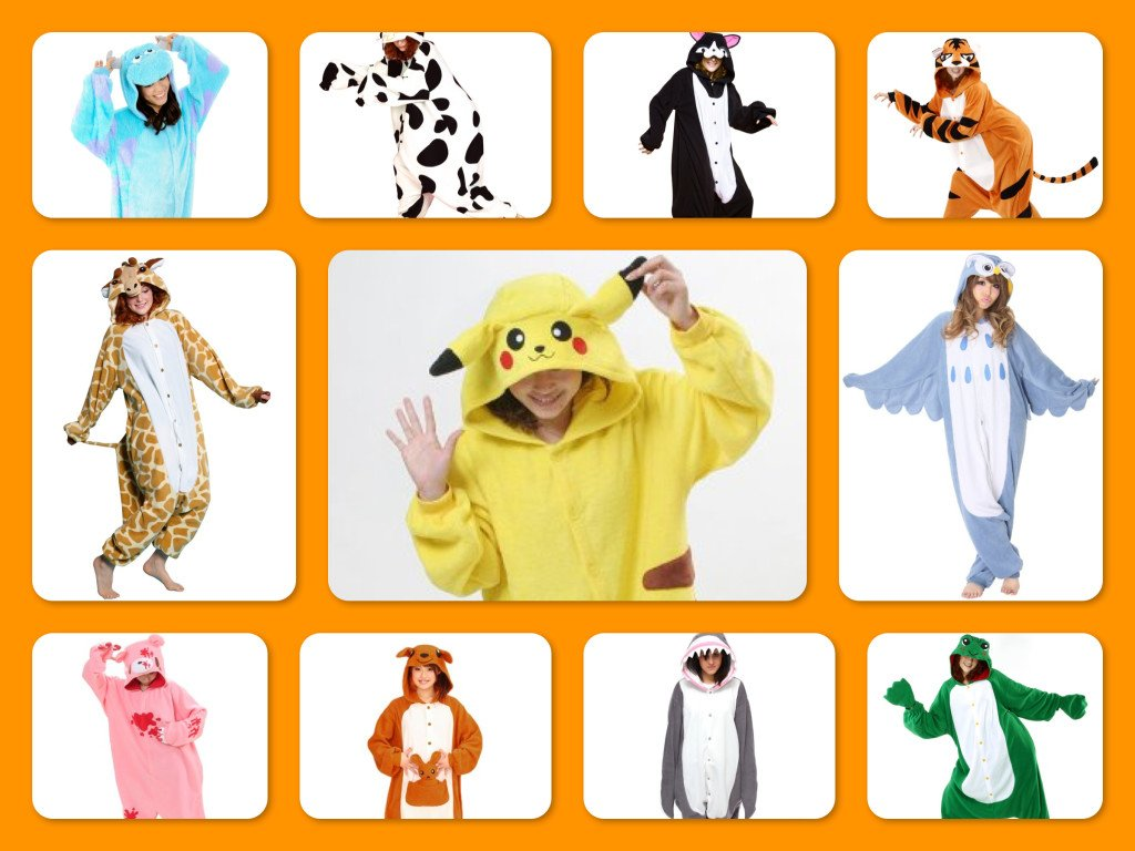 Kigurumi Halloween Costumes, Kigurumi Costume Party