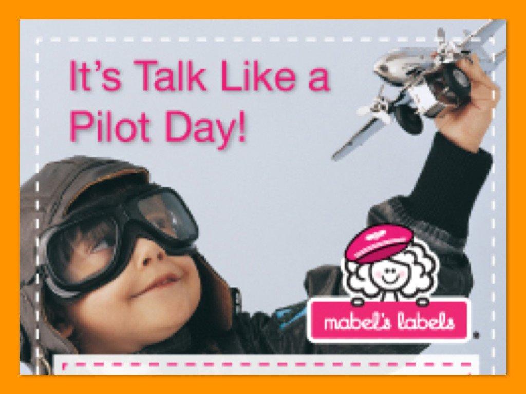 Mabel's Labels Pilot Labels