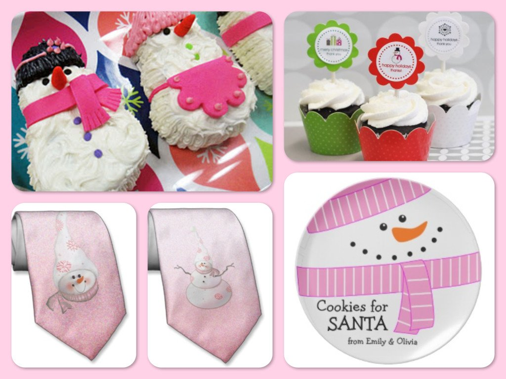 Pink Snowman Party Ideas