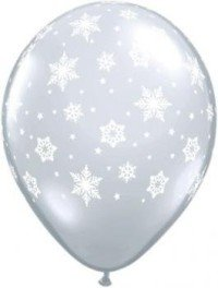 Snowflake Balloons