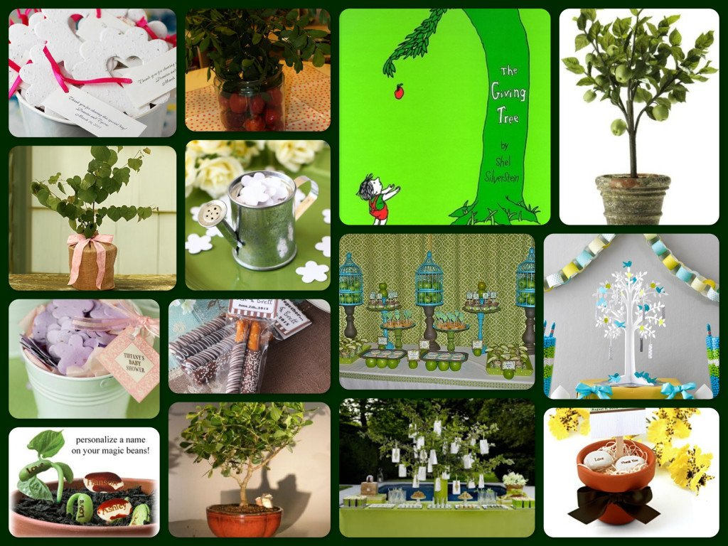 The Giving Tree Party Buffet Decor & Gift Ideas