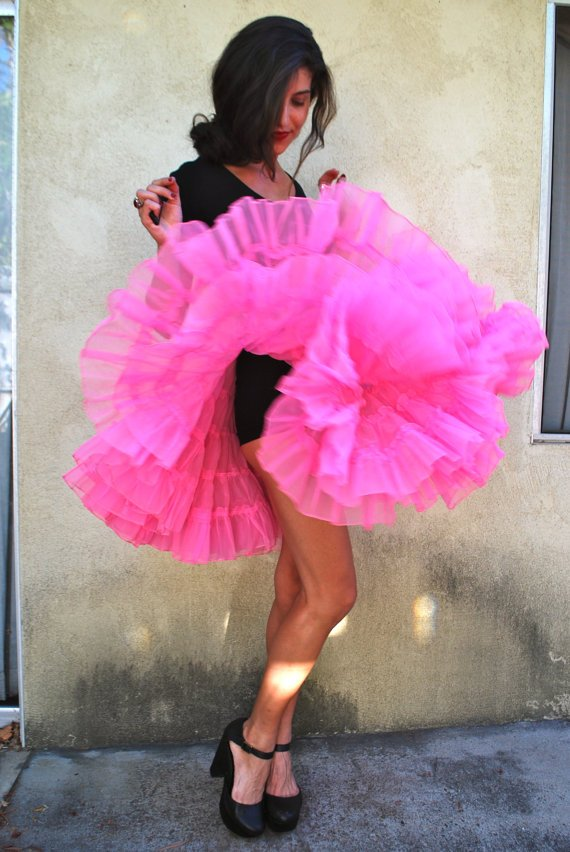 vintage halloween costume ideas vintage clothing party idea pros - Halloween Petticoat