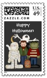 costumes stamp
