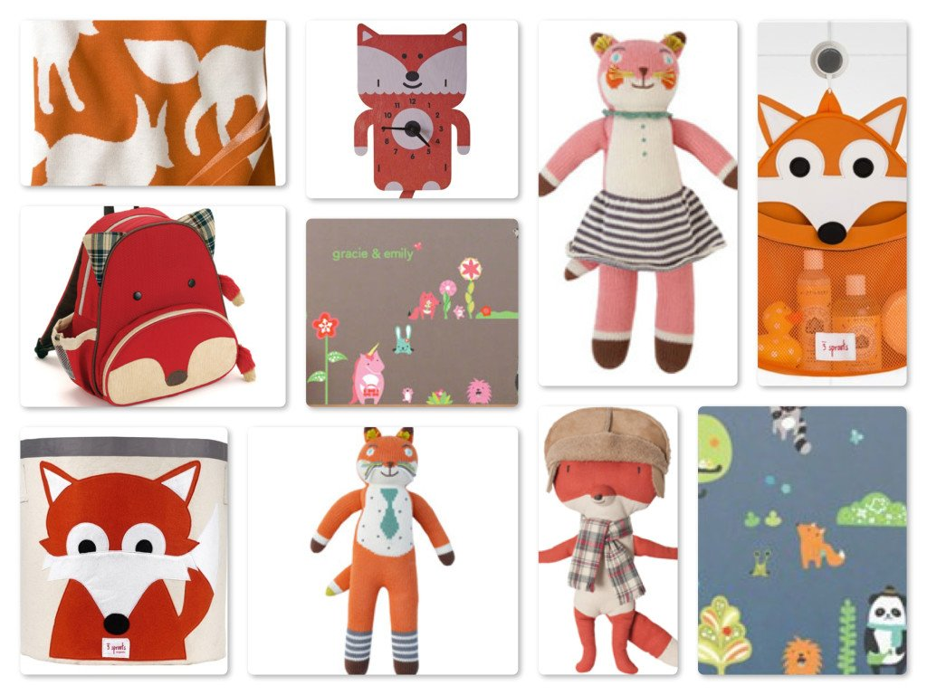 Fox Theme Nursery & Home Decor