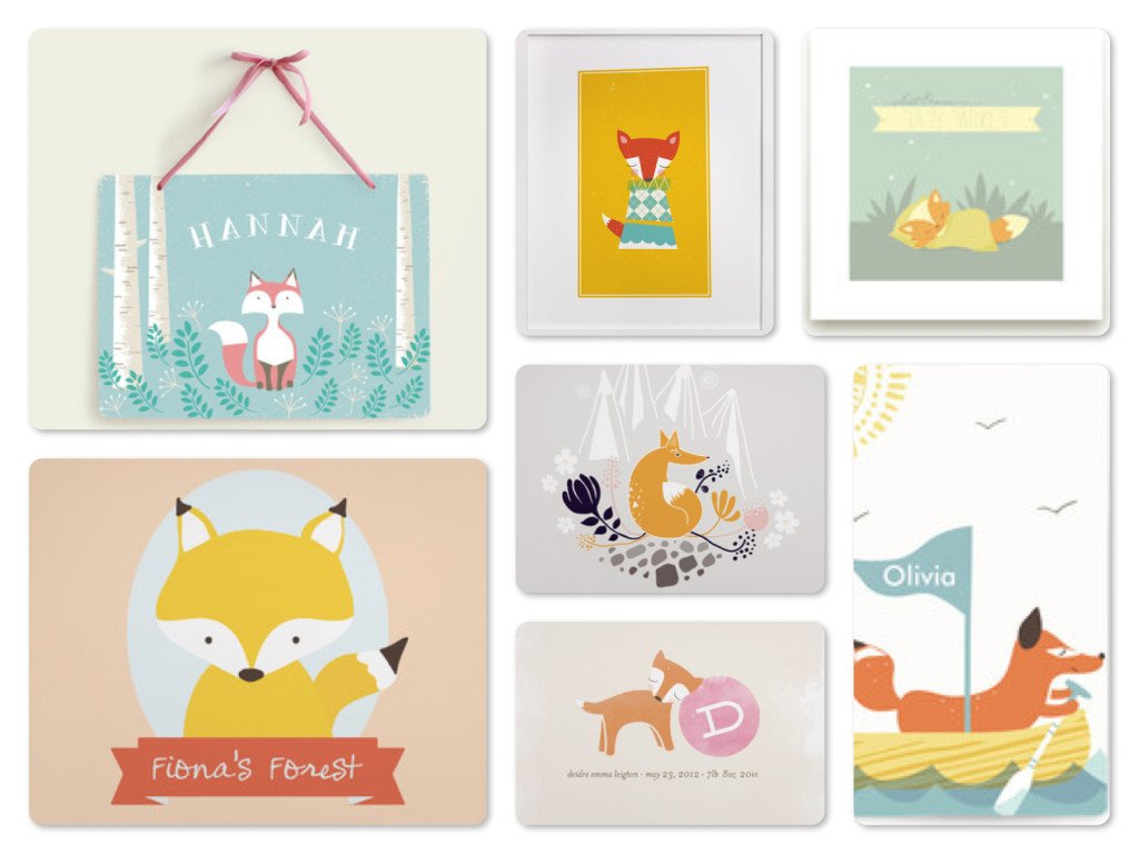 Fox Wall Art, Greeting Cards & Journals