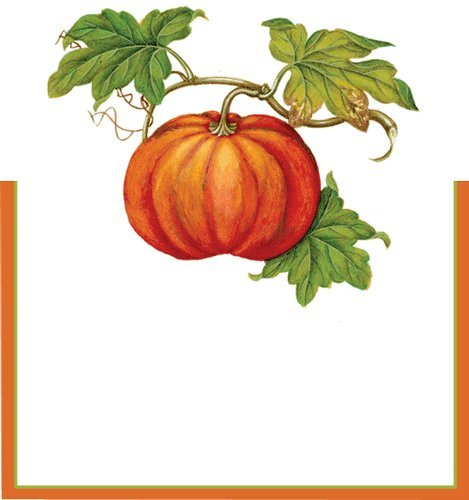 Jardin D' Automne Thanksgiving Place Cards
