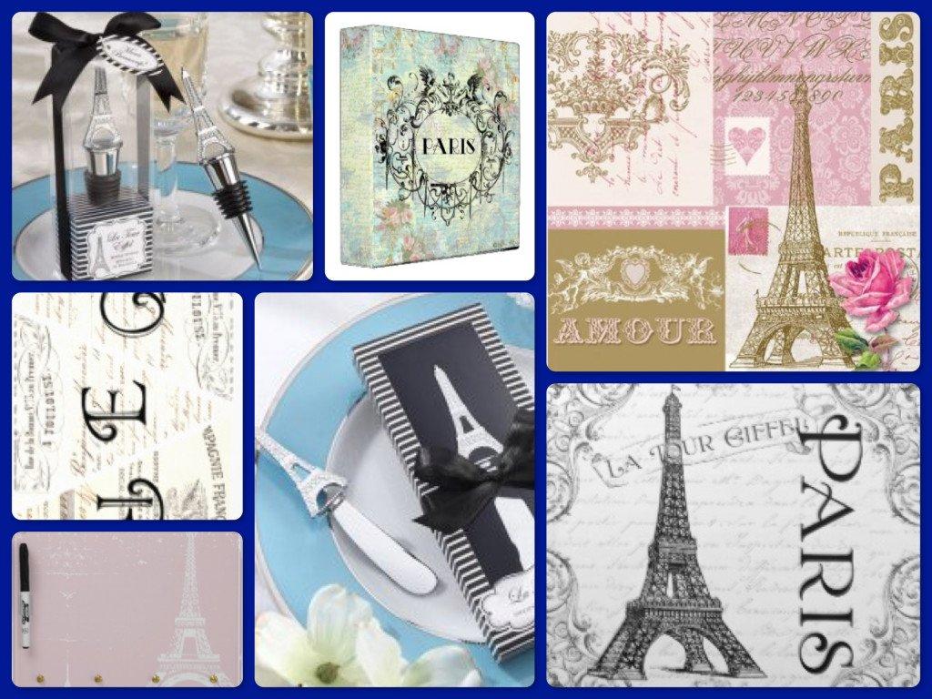 Paris Theme Party Favors, Napkins & Decor