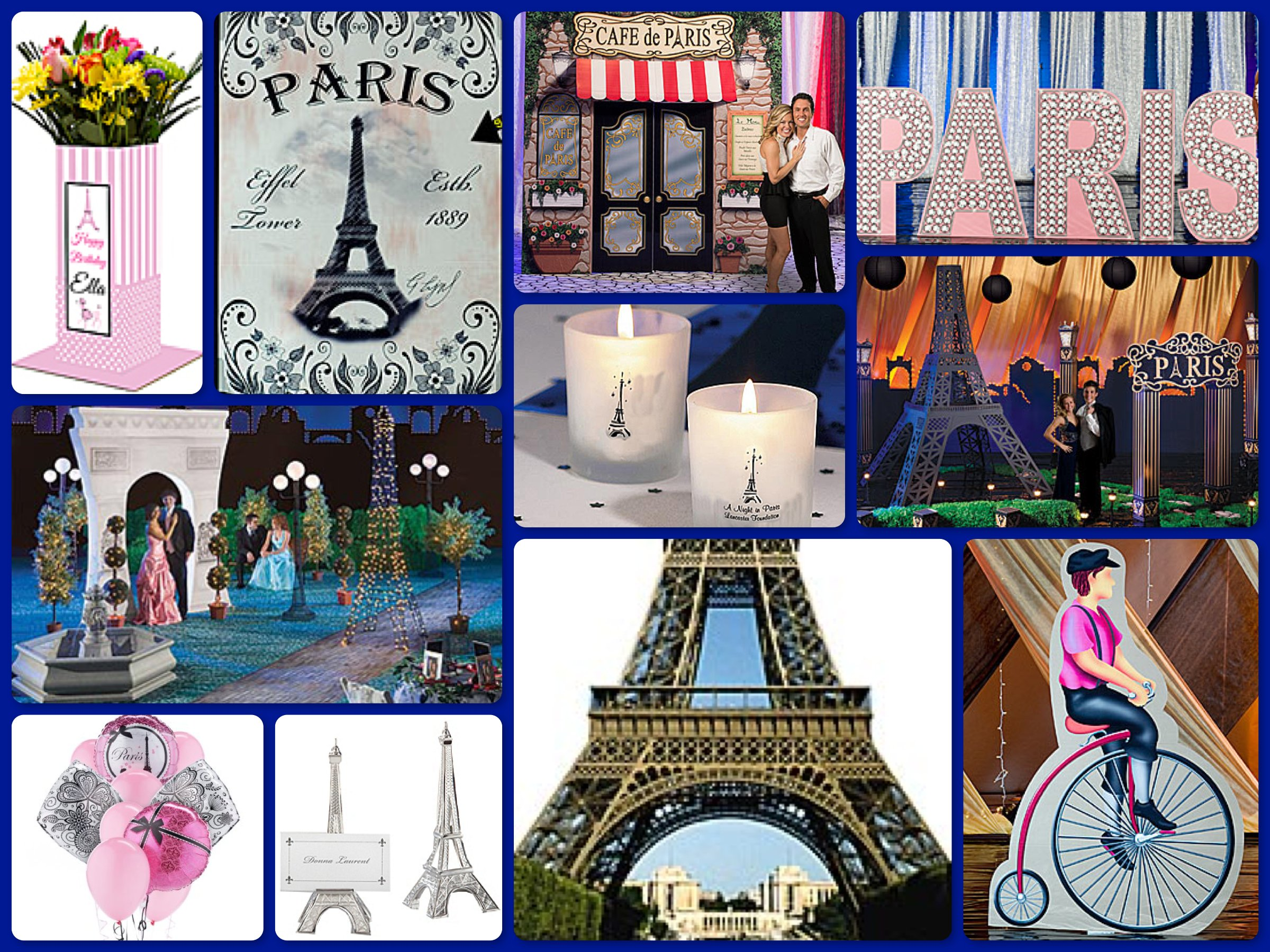 Paris theme party planning ideas supplies party idea for Paris themed decor