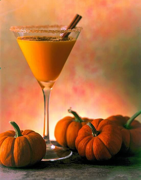 Autumn Pumpkin Martini Recipe