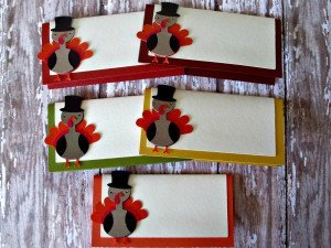 Turkey Seating Cards