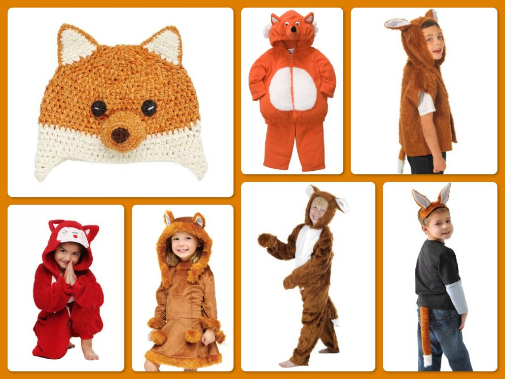 What Does The Fox Say Children's Fox Group Halloween Costume Ideas