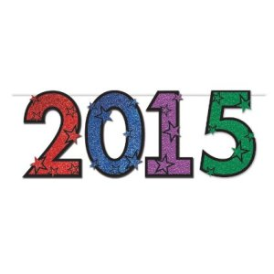 2015 New Years Party Banner