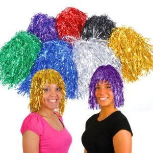 Assorted Tinsel Wigs