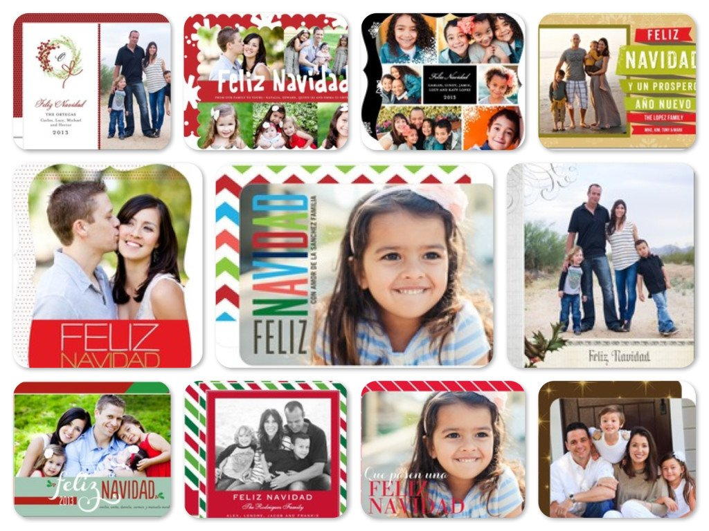 Feliz Navidad Holiday Cards