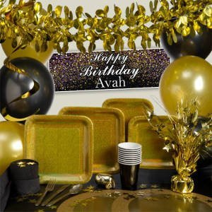 Gold Prismatic Party Supplies
