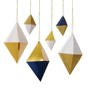 Hanging Gem Decorations