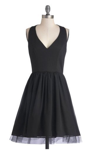 ModCloth Black dress