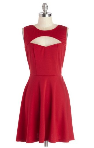 ModCloth Red party dress