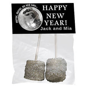 New Year Mirror Ball Favor Bag Kit