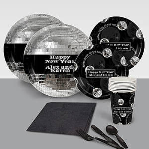 New Year Mirror Ball Personalized Basic Pack