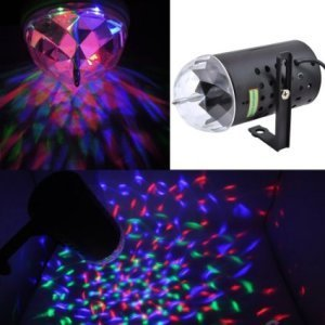 Rotating RGB Stage Light for Disco party club bar