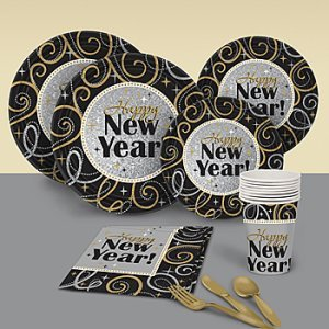 Sparkling New Year Basic Party Pack