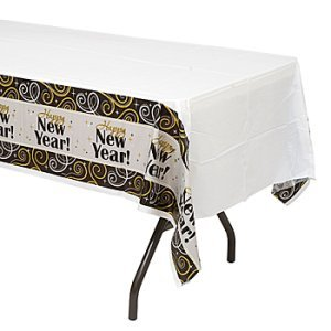 Sparkling New Year Table Cover