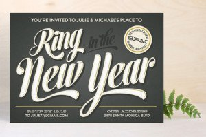 ring in the new year holiday party