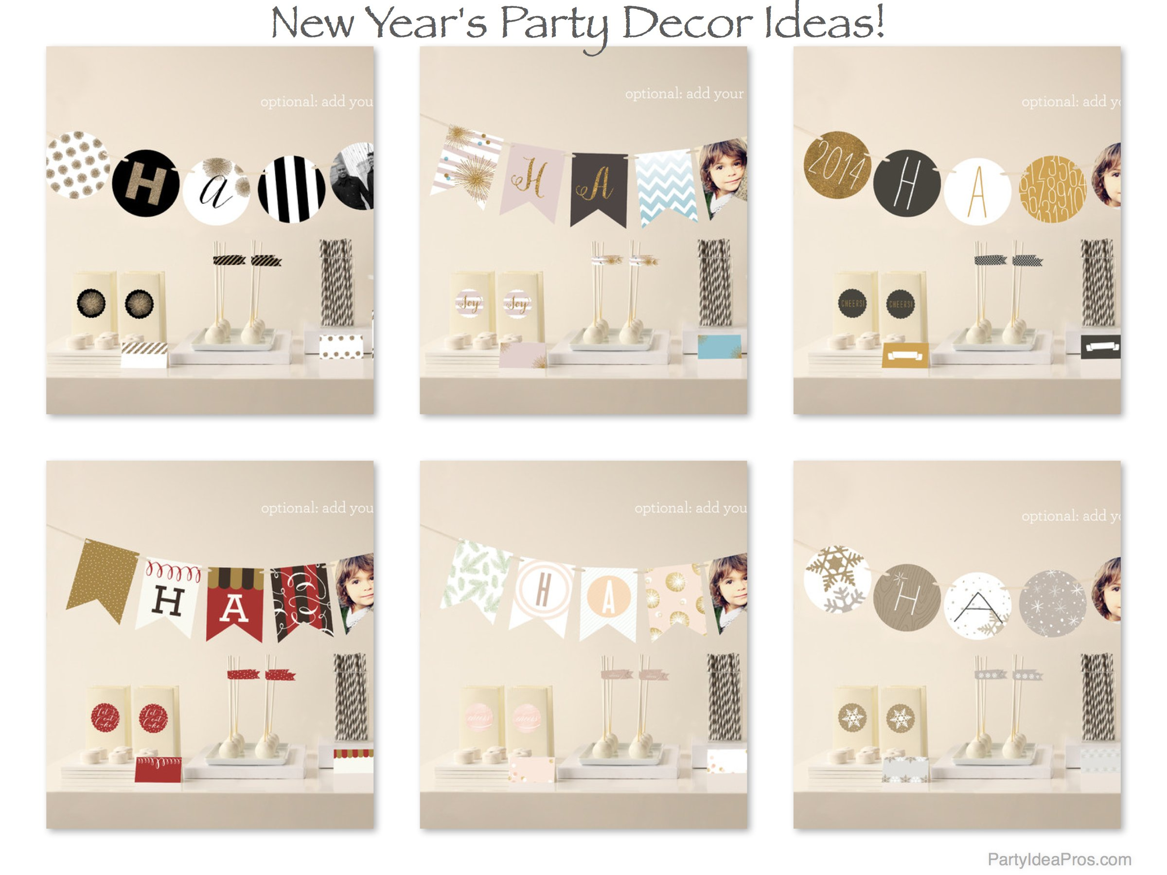 New Years Party Decor Ideas