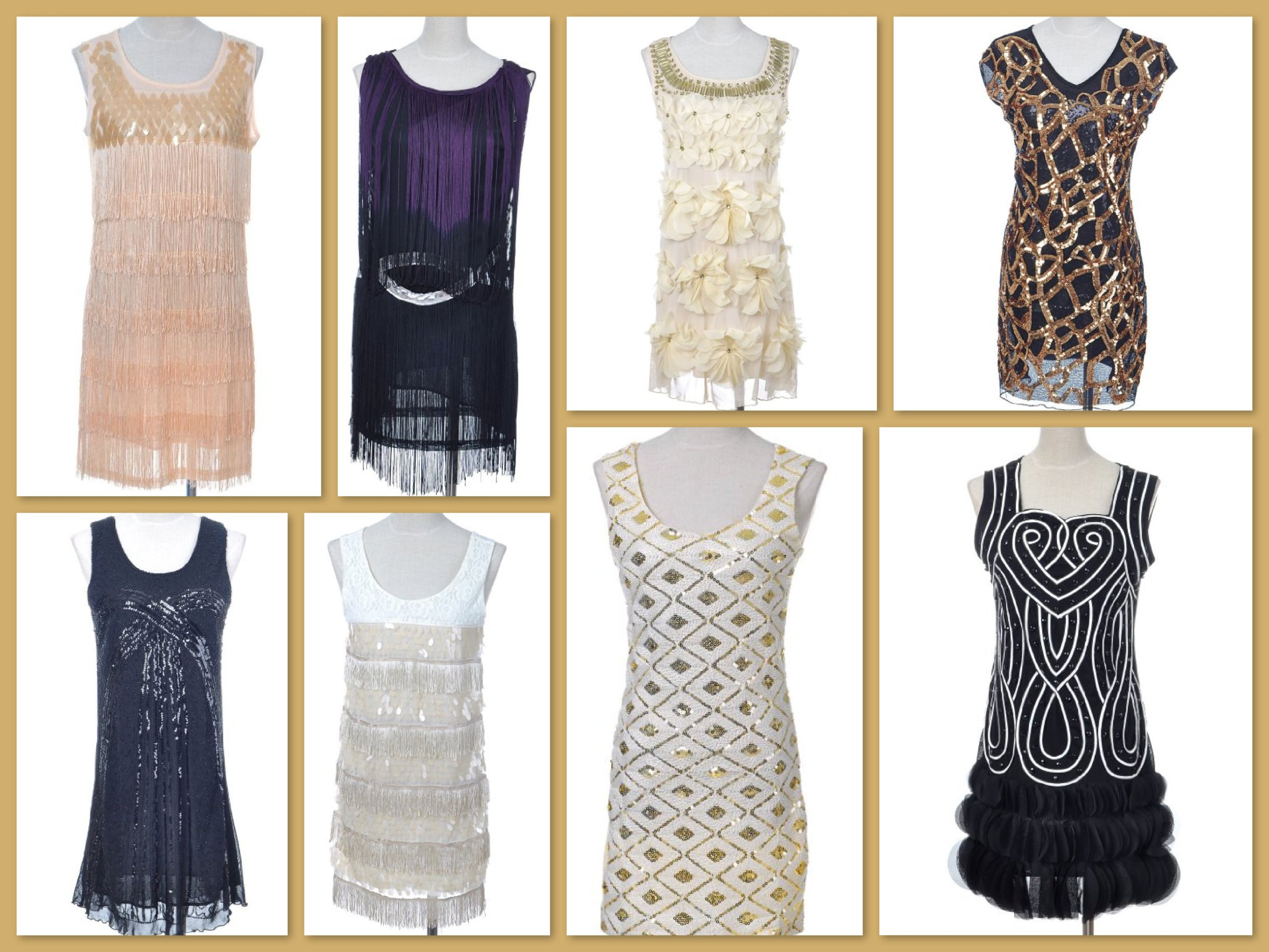 New Year's Eve Great Gatsby Roaring 20s Party Dresses ...