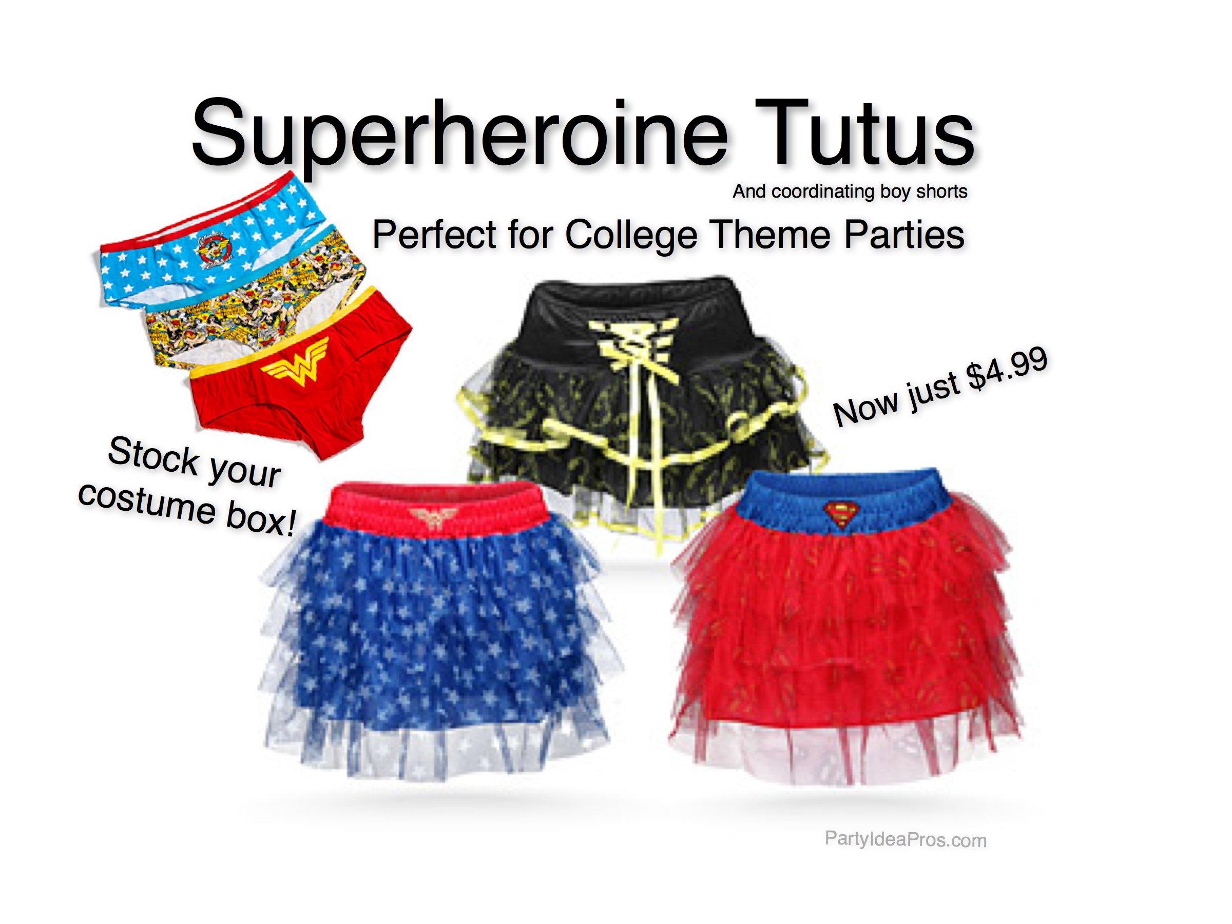 Superheroine Tutus