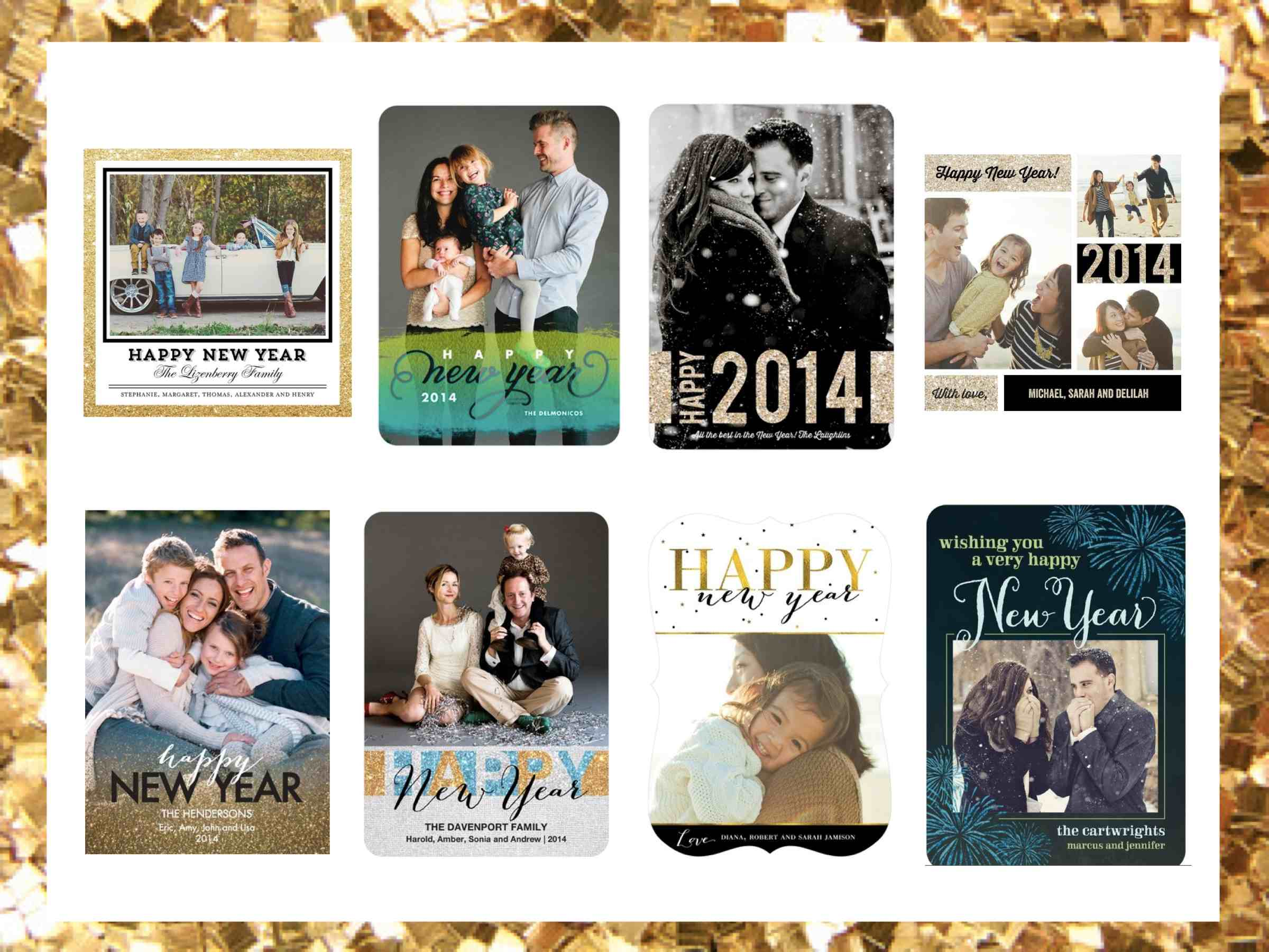 Tiny Prints New Years Cards