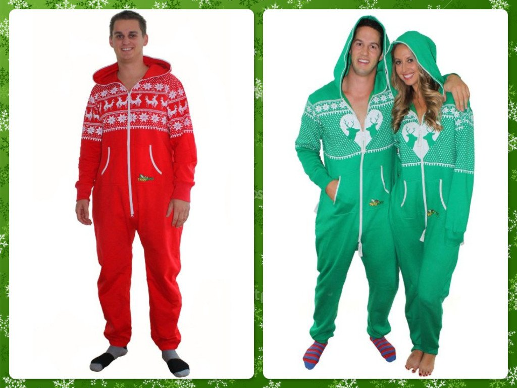 Ugly Christmas Sweater Holiday Party Jumpsuits