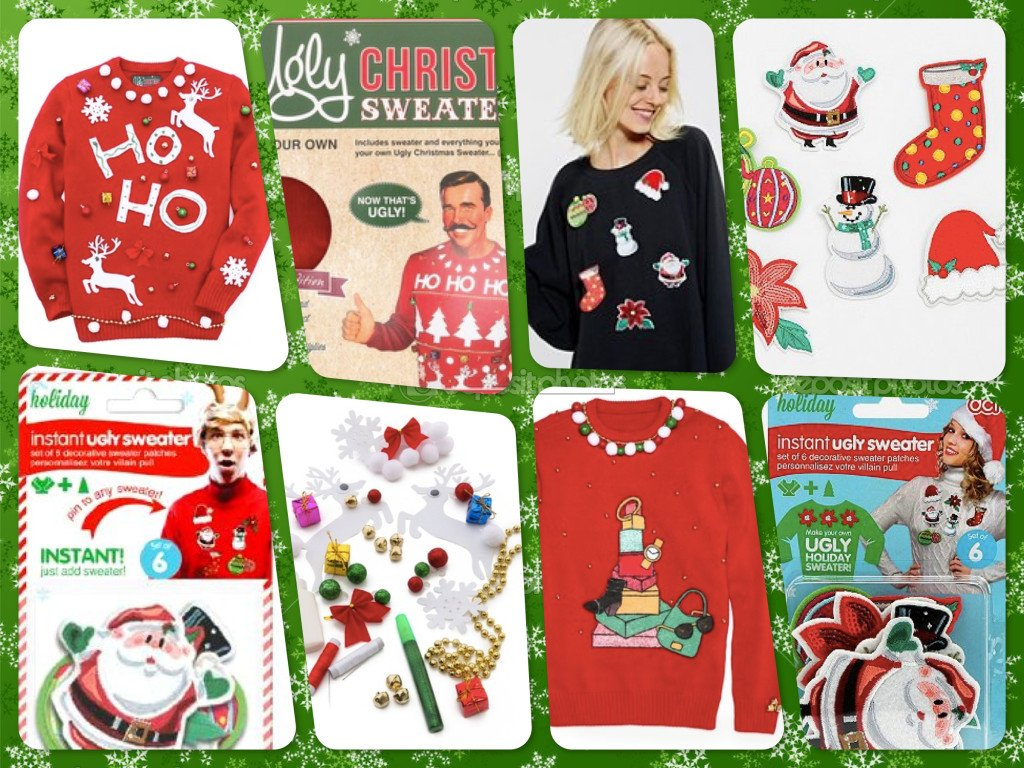 Ugly Christmas Sweater Kits